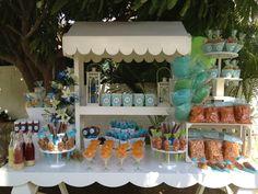 Mesa de dulces salada