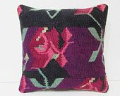 master kilim pillow decorative sofa pillow outdoor pillow striped pillow case chair cushion cover tapestry rug floral pillow purple 26294