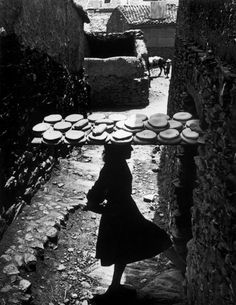W. Eugene  Smith SPAIN. Extremadura. Province of Caceres. Deleitosa. 1951