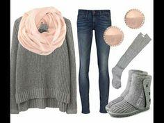 Este outfit es perfecto para salir con las amigas un dia de frio