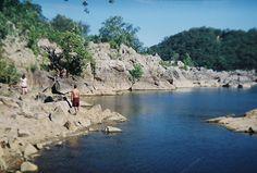 Potomac Catfish Hole - I love swimming holes