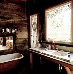 Rustic Boho Decor Bathroom. | Bohemian Decor Bathrooms | Pinterest
