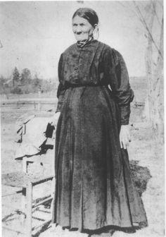 Full blooded cherokee indian Louisa Catherine Deason.
