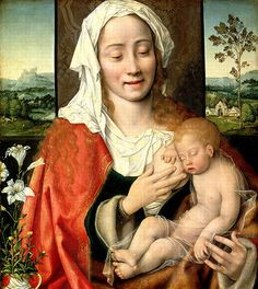 Joos van Cleve | Madonna and Child, 1525-30, oil on canvas