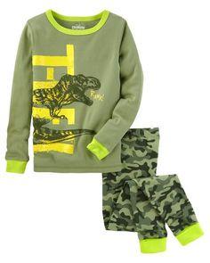 new concept fa34a 5747e 2-Piece Glow-in-the-Dark Snug Fit Cotton PJs