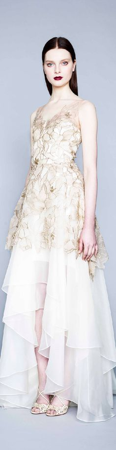 Fall 2015 Ready-to-Wear Marchesa Notte