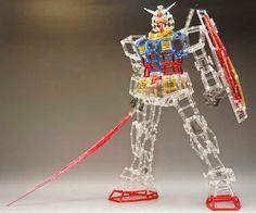 Clear runner Gundam RX-78-2