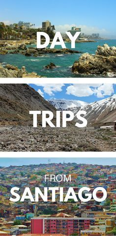 If you're planning a trip to Santiago, Chile, don't miss out on some of the fabulous day trips you can take from there. From the mountainous Andes to the beautiful coastline, there are so many amazing day trips you can take and things to do while traveling in Santiago. Click through to learn about 9 of our favorite destinations near this Chilean city! #Chile