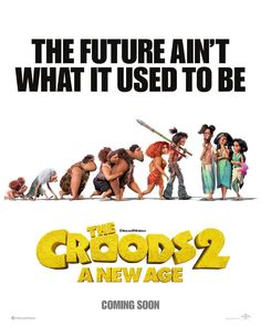 FIRST LOOK... #TheCroods: A New Age - sequel to the 2013 film - will arrive in cinemas soon... Voices of #NicolasCage, #EmmaStone and #RyanReynolds... Trailer out now. Brazil News, Nova Era, Box Office Collection, Cinema, Nicolas Cage, All Movies, Movie Releases, New Poster, Ryan Reynolds