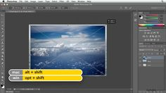 Photoshop: How to composite images using layers   lynda.com tutorial