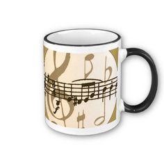 Sheet Music Mug