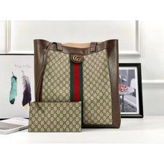 80b349b14b3 Gucci Ophidia soft GG Supreme large tote 519335