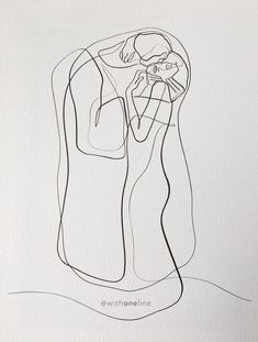 The Kiss Art Print, Gustav Klimt Drawing, One Line Print, Minimal Art Print, Single Line Drawing Klimt Tattoo, Line Artist, Art Minimaliste, Kunst Tattoos, Single Line Drawing, Kunst Poster, Kiss Art, Famous Art, Selling Art