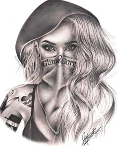 Glam and Gore by on DeviantArt - Glam and Gore by on . - Glam and Gore by on DeviantArt – Glam and Gore by on DeviantArt – # d - Gangster Tattoos, Chicano Art Tattoos, Chicano Drawings, Dark Art Drawings, Tattoo Design Drawings, Gangster Drawings, Chicano Tattoos Gangsters, Prison Drawings, Badass Tattoos