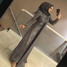 Hijab Prom Dress, Muslimah Wedding Dress, Hijab Evening Dress, Hijab Wedding Dresses, Evening Dresses With Sleeves, Muslim Dress, Muslim Women Fashion, Islamic Fashion, Hijabi Gowns