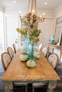 French Country Farmhouse Dining Room