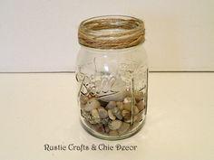 Mason Jar Citronella Candle Holders