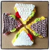 Ravelry: Play Food Sandwich pattern by Fiona Campbell