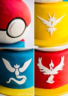 this video tutorial will show you how to personalize your pokemon cake with your team, or add all three teams - check out this pokemon go cake video tutorial