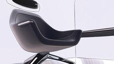 Tesla Space - Internship Project on Behance Car Interior Sketch, Car Interior Design, Automotive Design, Adobe Photoshop, Chair Design, Furniture Design, Industrial Design Sketch, Transportation Design, Interior Inspiration