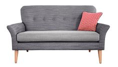 Top 10: Sofas for small spaces. Called the 'carrie petite sofa'