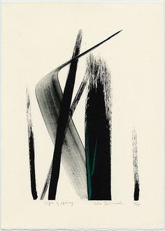 justaspeckonarock: TOKO SHINODA (Japanese, b.1913), Sign of... #abstractart