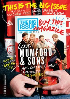 Cover of someone holding magazine cover - oh, the inception