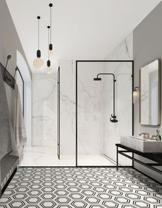 Image result for 2018 white bathroom trend
