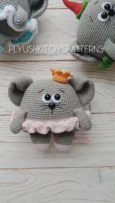 Cute little mouse Amigurumi mousy Crochet pattern - Stofftiere Crochet Cat Pattern, Crochet Mouse, Crochet Animal Patterns, Crochet Patterns Amigurumi, Stuffed Animal Patterns, Cute Crochet, Amigurumi Doll, Crochet Dolls, Crochet Hats