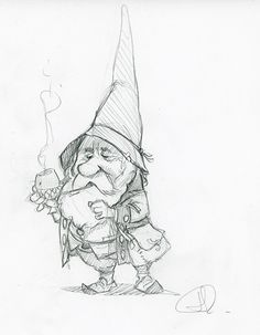 Ideas Funny Drawings Sketches For 2019 Wizard Drawings, Fairy Drawings, Fantasy Drawings, Pencil Art Drawings, Doodle Drawings, Drawing Sketches, Fantasy Art, Cartoon Girl Drawing, Cartoon Drawings