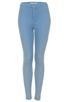 MOTO Baby Blue Joni Jeans - Topshop