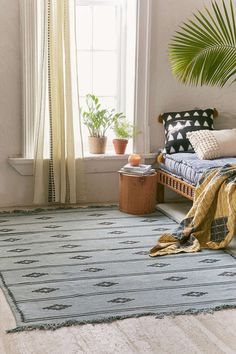 Ladder Printed Rug - Urban Outfitters