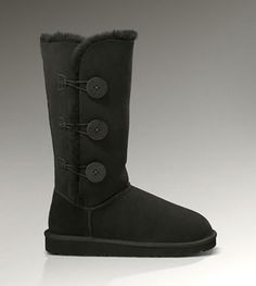 #WWW#UGGCLAN#COM XMAS PROMOTION, 80% DISCOUNT OFF, UGG Bailey Button Triplet 1873 Black For Sale In UGG Outlet Save more than $100, Free Shipping, Free Tax, Door to door delivery