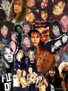 The sexy faces of Metallica Metallica Funny, Metallica Band, Band Pictures, Funny Pictures, Metal Bands, Rock Bands, Ride The Lightning, Kirk Hammett, Irish Girls