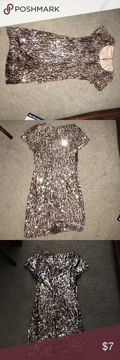 Vintage Sequin Party Dress Vintage Sequin Party Dress! Worn for a handful of times. Dresses Mini