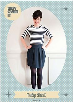 Purchase Sew Over It Tulip Skirt Downloadable Pattern and read its pattern  reviews. Find other 0b01e6d9e78