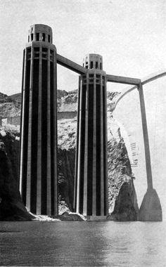 Hoover Dam Construction, Civil Construction, Boulder City, Lake Mead, Colorado River, Aerial View, Historical Photos, Graphic, Great Photos
