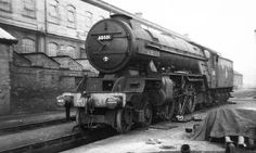Photographed at Doncaster Works, on the 15th December 1957.