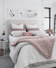 Best white bedroom. Tumblr #white #bedroom #bed #room #decor #ideas ...