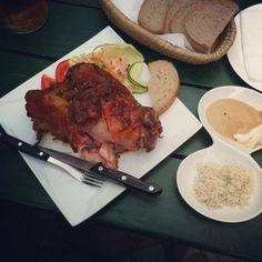 Pork knee...delicious :)
