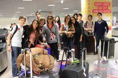 No embarque de Lisboa para Londres. Não faça intercâmbio. Faça Cultura & Companhia!
