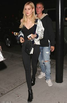 Justin Bieber spotted on date in Beverly Hills with Transformers actress Nicola Peltz | Daily Mail Online