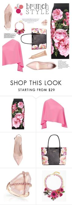 """""""Lets go out , mom!!"""" by andreachidisima ❤ liked on Polyvore featuring Dolce&Gabbana, Roland Mouret, Calvin Klein, Clinique and tarte"""