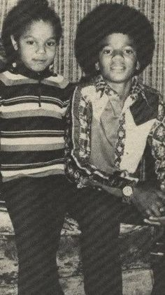 Janet and Michael Jackson - Jackson 5 Era