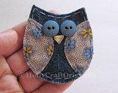 Owl keychain 2