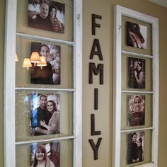 Fantastic ideas of what to do with the old, broken windows piling up in the garage and barn.