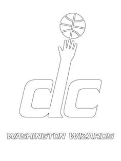 Washington Wizards logo NBA coloring pages Washington Wizards, Wizards Logo, Sports Coloring Pages, Basketball, Nba, Logos, Logo
