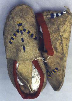 Blackfoot mocs, AMNH