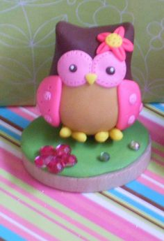 One Small Owl Cake Topper- CUTE