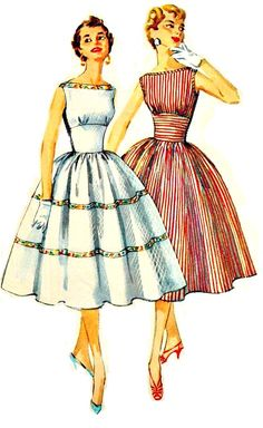 vintage sewing pattern 1950s?